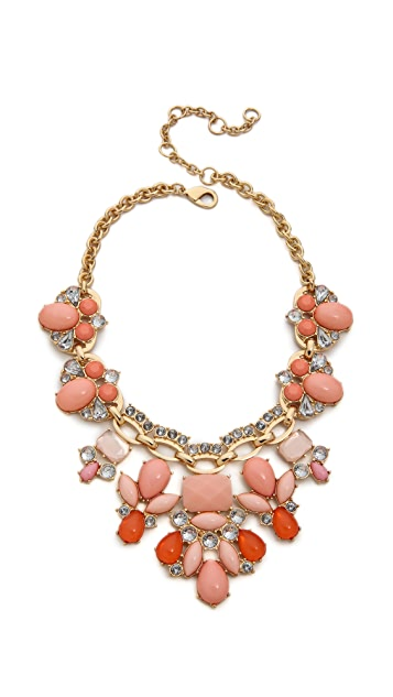 Lee By Lee Angel Stone Statement Necklace