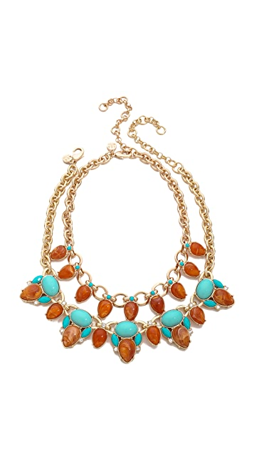 Lee By Lee Angel Double Layered Necklace Set