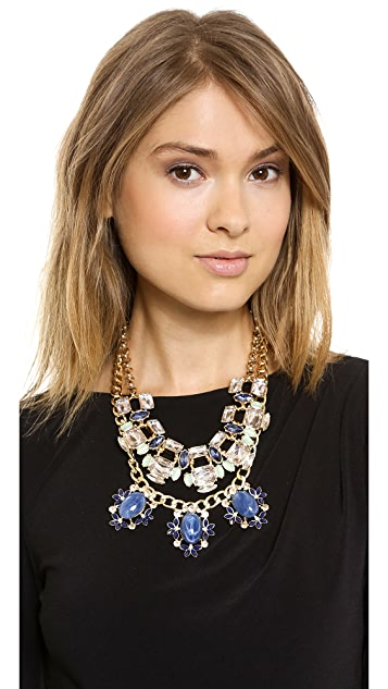 Lee By Lee Angel Crystal Chain Necklace Set
