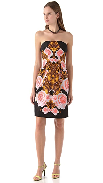 Josh Goot Strapless Bell Dress