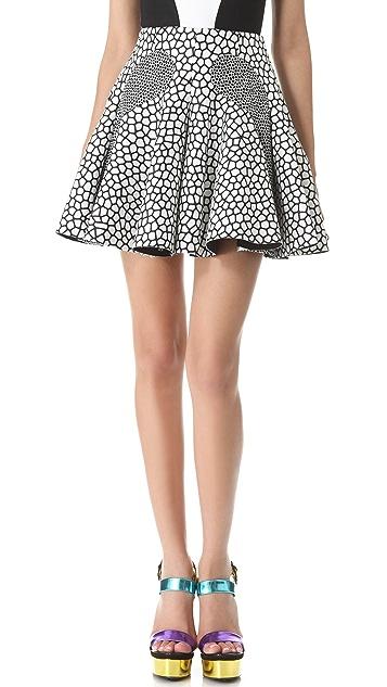 Josh Goot Eel Skin Skirt