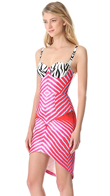Josh Goot Marine Stripe Dress