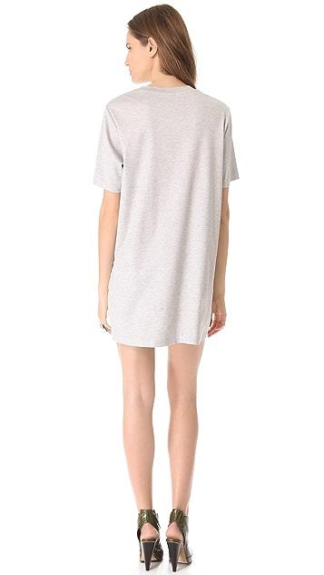 Josh Goot Mini Muscle Tee Dress