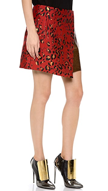Josh Goot Wrap Miniskirt
