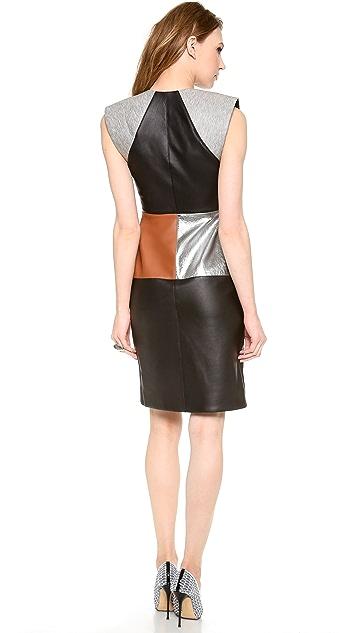 Josh Goot Sleeveless A Line Dress