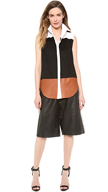 Josh Goot Sleeveless Shirt