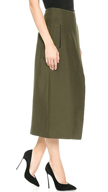 Josh Goot Long Line Skirt