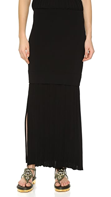 Josh Goot Long Line Skirt
