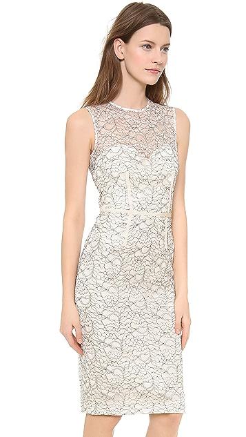 Jill Jill Stuart Embroidered Lace Dress