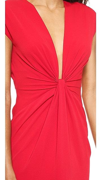 Jill Jill Stuart Twist Front Maxi Dress