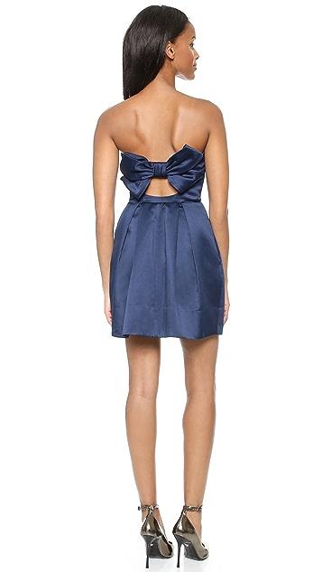 Jill Jill Stuart Strapless Bow Back Dress