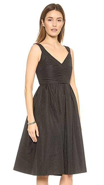 Jill Jill Stuart Dotted Jacquard Dress