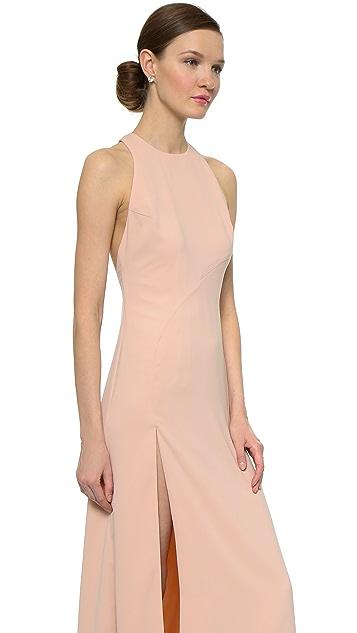 Jill Jill Stuart High Slit Gown