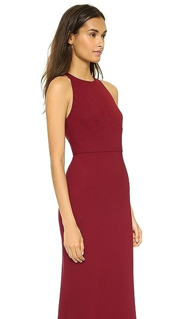 Jill Jill Stuart Crepe Maxi Dress