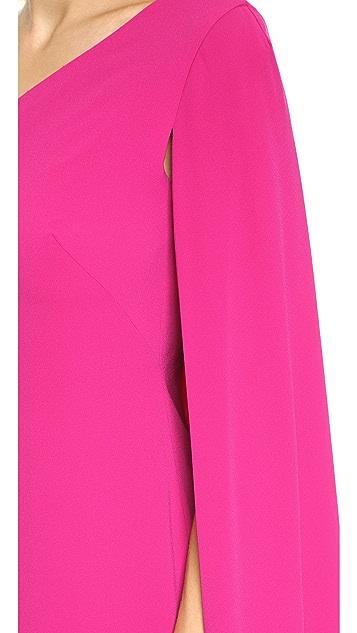Jill Jill Stuart One Shoulder Gown
