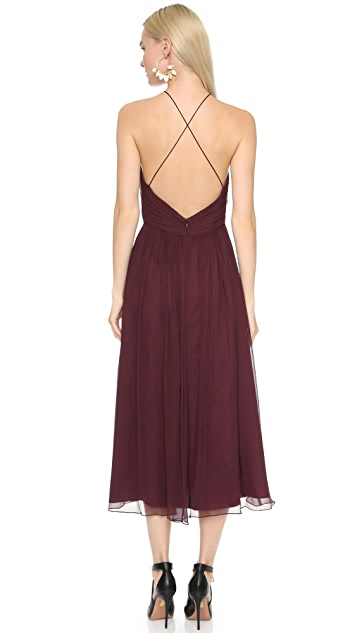 Jill Jill Stuart High Neck Gown