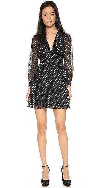 Jill Jill Stuart Clipped Dots Dress