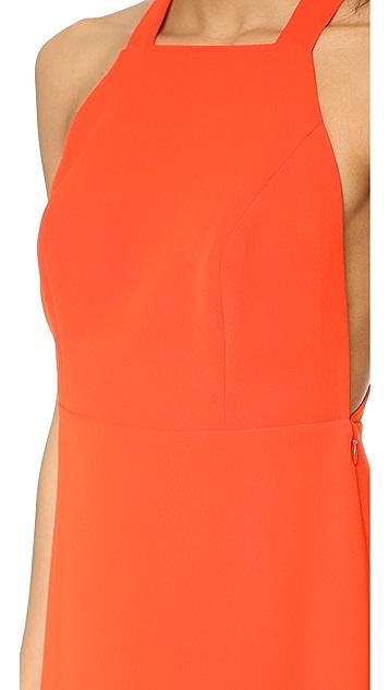 Jill Jill Stuart High Neck Maxi Dress