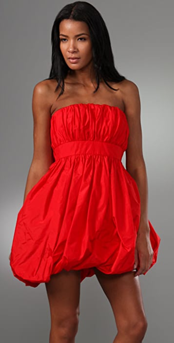 Jill Stuart Portia Strapless Dress