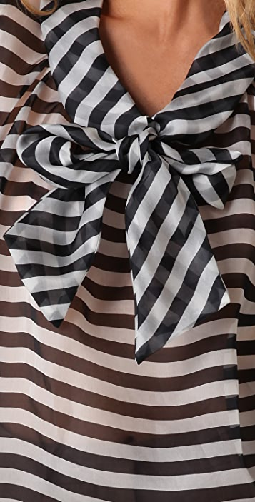 Jill Stuart Leonore Striped Top