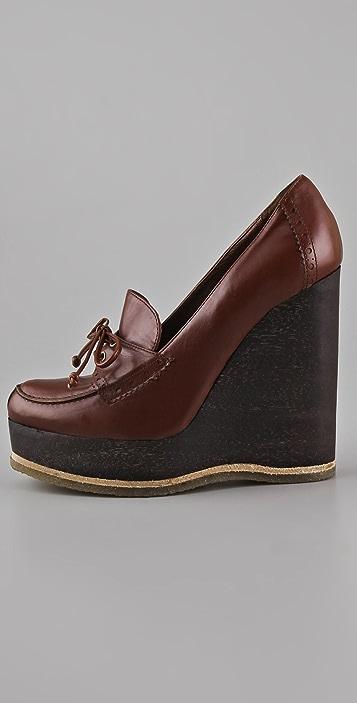 Jill Stuart Natacha Wedge Loafers