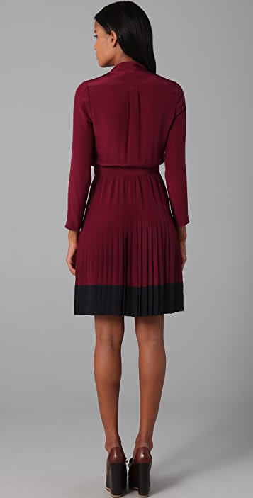 Jill Stuart Karlie Pleated Dress