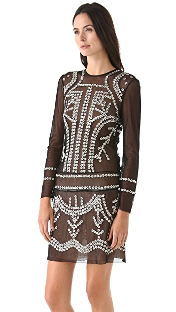 Jill Stuart Janet Beaded Dress