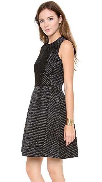 Jill Stuart Linda Raffia Dress