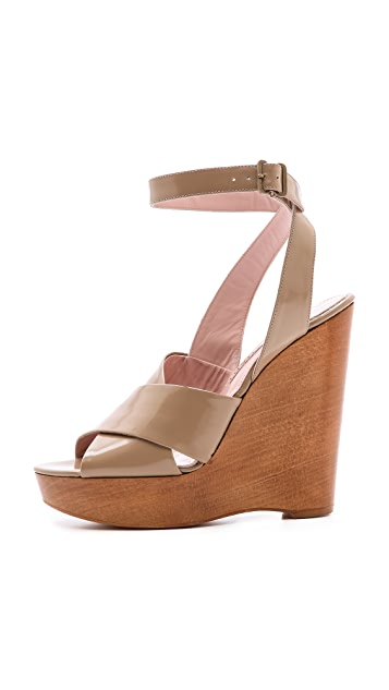 Jill Stuart Margo Cross Strap Sandals
