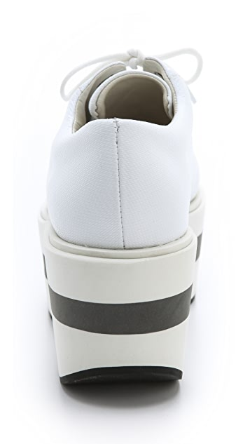 Jil Sander Navy Big Bottom Sneakers