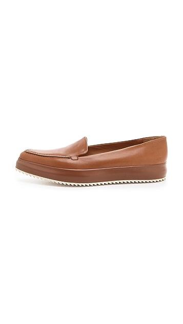 Jil Sander Light Brown Creeper Shoes