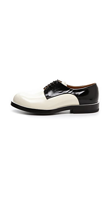 Jil Sander Inwick Saddle Oxfords