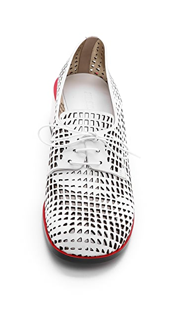 Jil Sander Lasercut Derby Oxfords