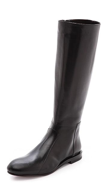 Jil Sander Flat Tall Boots