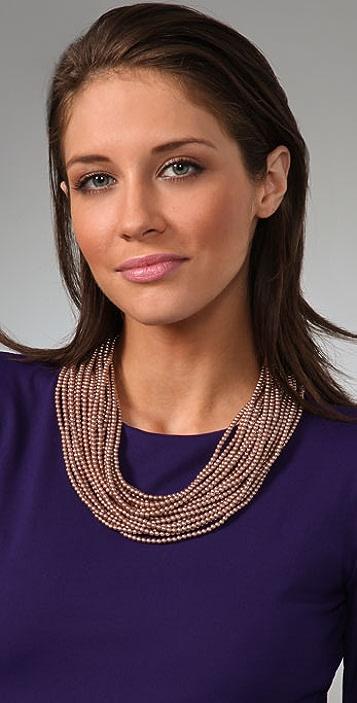 Juliet & Company Pearl Multi Strand Necklace