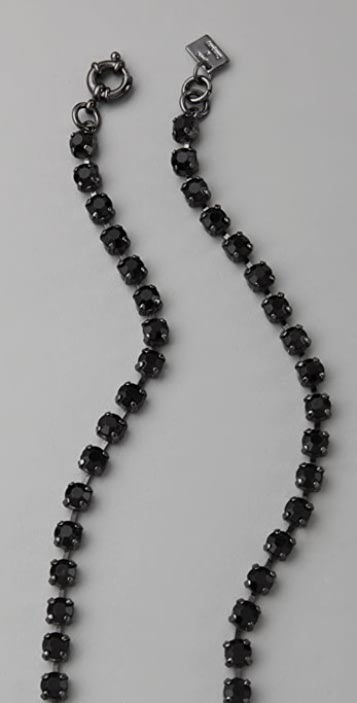 Juliet & Company Continuous Jet Layering Necklace