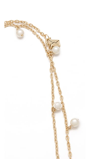 Juliet & Company New Imitation Pearl Wrap Necklace