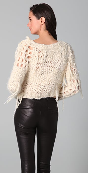 James Long Cropped Julia Sweater