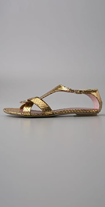 Jean-Michel Cazabat Tamaka Gladiator Sandals