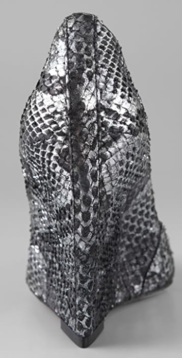 Jean-Michel Cazabat Penny Snake Wedge Heels