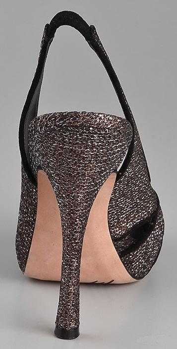 Jean-Michel Cazabat Oriana Platform Sandals