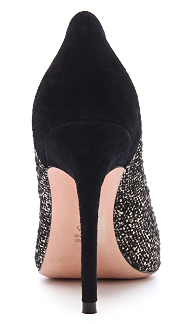 Jean-Michel Cazabat Elda Tweed Pumps