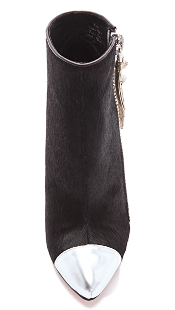Jean-Michel Cazabat Zoulu Haircalf Booties