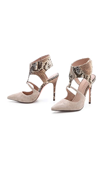 Jean-Michel Cazabat Evengelina Ankle Wrap Pumps