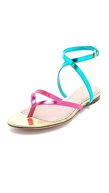 Jean-Michel Cazabat Talasa Flat Sandals