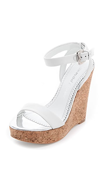Jean-Michel Cazabat Wooster Wedge Sandals