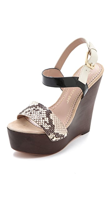 Jean-Michel Cazabat Tarika Wedge Sandals