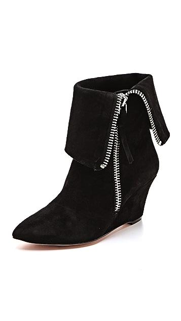 Jean-Michel Cazabat Valeria Wedge Cuff Boots