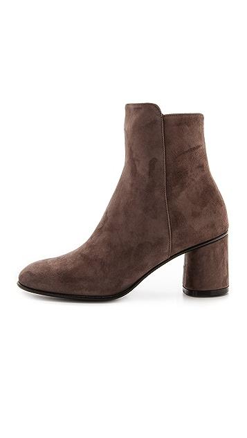 Jean-Michel Cazabat Mina Block Heel Short Boots