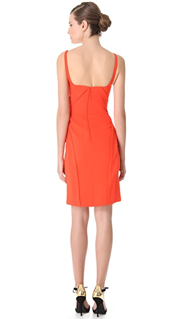 J. Mendel Draped Cocktail Dress